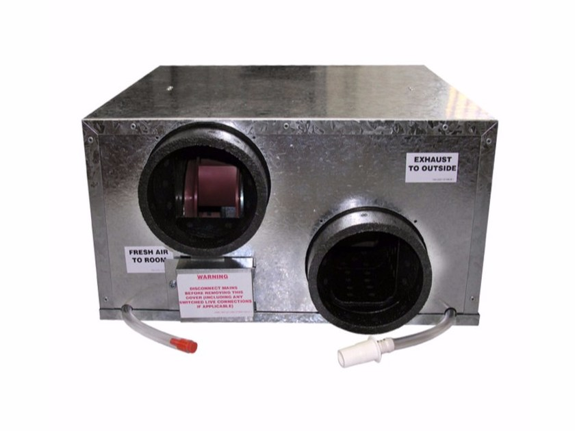 Residential Heat recovery unit for false ceiling HRI MINI by Vortice