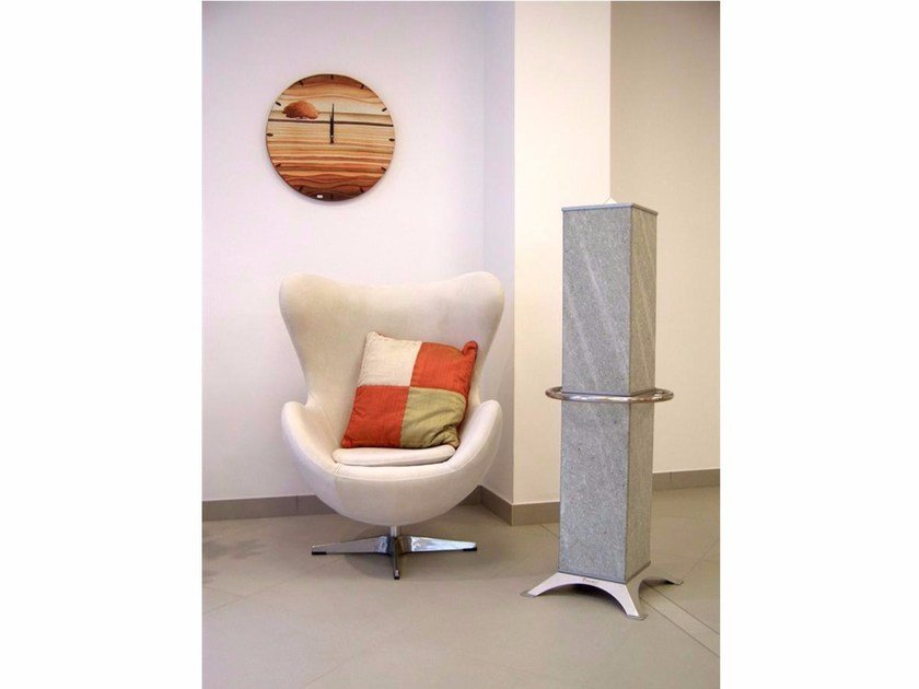 Natural stone Electric heater with towel rack HRSA1200S1 | Electric heater with towel rack by KarniaFire