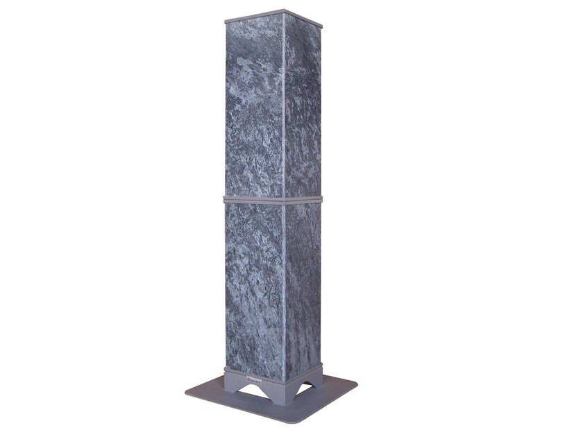 Natural stone Electric heater with Thermal Accumulation HRSD1200 | Electric heater by KarniaFire