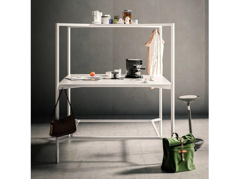 Office booth for coffee break HUB | Office booth for coffee break by FANTONI