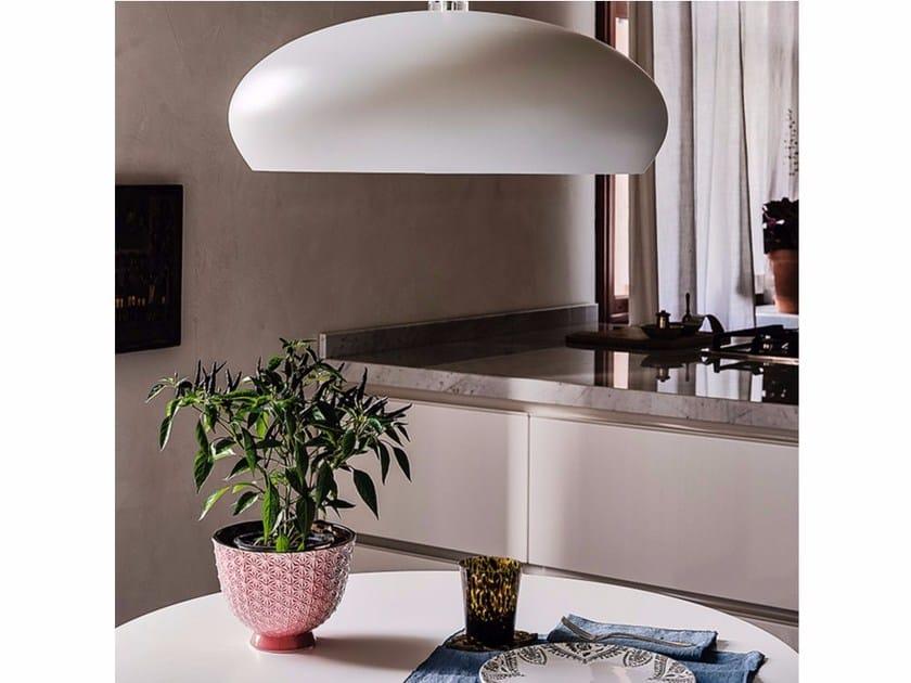 Steel pendant lamp HUBLOT by Cattelan Italia