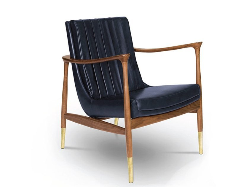 Armchair with armrests HUDSON | Armchair by Delightfull