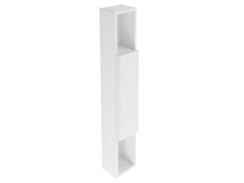 Tall suspended MDF bathroom wall cabinet HUG | Bathroom wall cabinet by Ponte Giulio