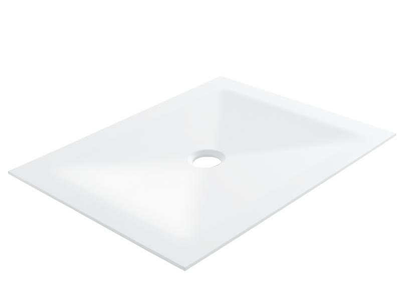 Custom acrylic stone shower tray HUG | Custom shower tray by Ponte Giulio