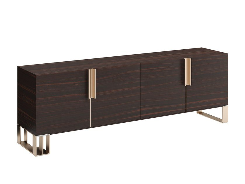 Solid wood sideboard with doors HUG XXL by Capital Collection