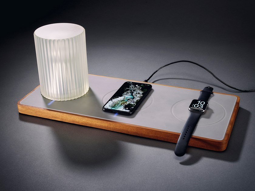 Wireless Battery charger HUGO by 8-light