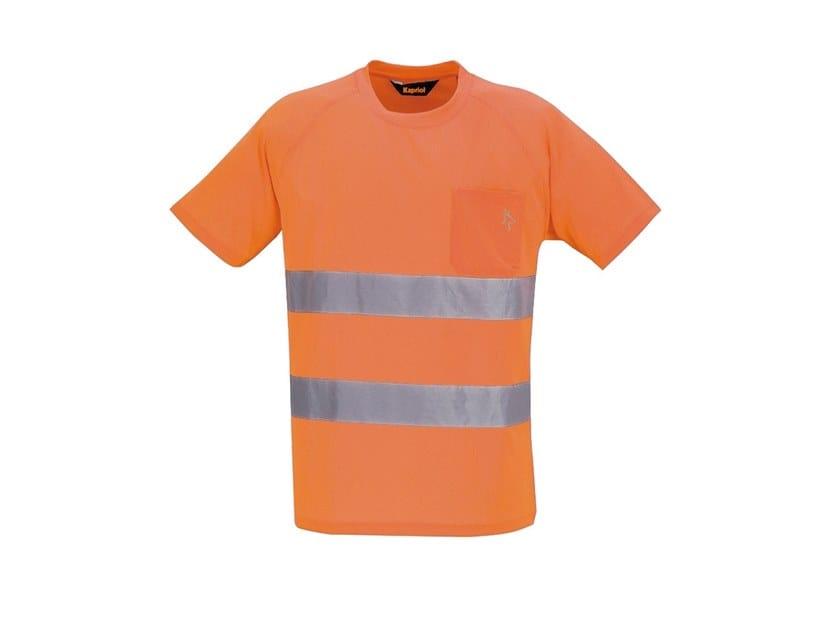 Work clothes HV T-SHIRT ARANCIO by KAPRIOL