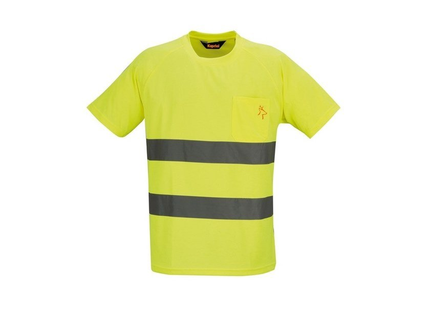 Work clothes HV T-SHIRT GIALLO by KAPRIOL