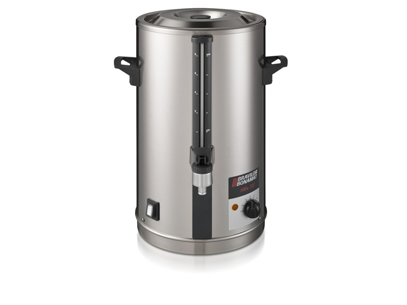 Stainless steel Hot water dispenser with water connection HW+ 520 by Bravilor Bonamat
