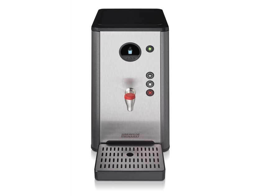 Stainless steel Hot water dispenser with water connection HWA 6D by Bravilor Bonamat