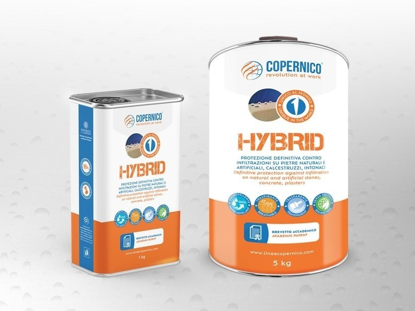 Patented surface water-repellent product HYBRID by Copernico