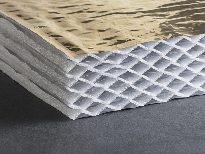 Thermal insulation panel / sound insulation panel HYBRIS by ACTIS