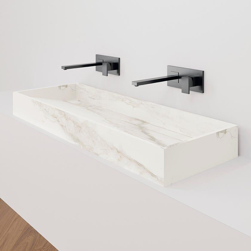 HYDRA WT Larsen Blanco-Gris Natural / Natural 117x43 cm