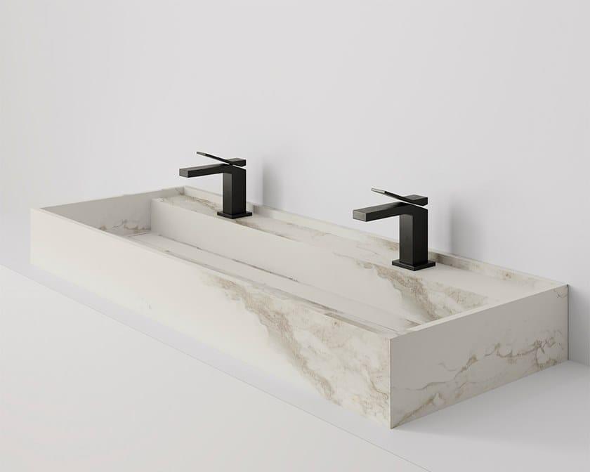 HYDRA Larsen Blanco-Gris Natural / Natural 117x43 cm