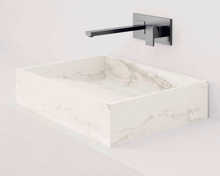 HYDRA WT Larsen Blanco-Gris Natural / Natural 43x60 cm