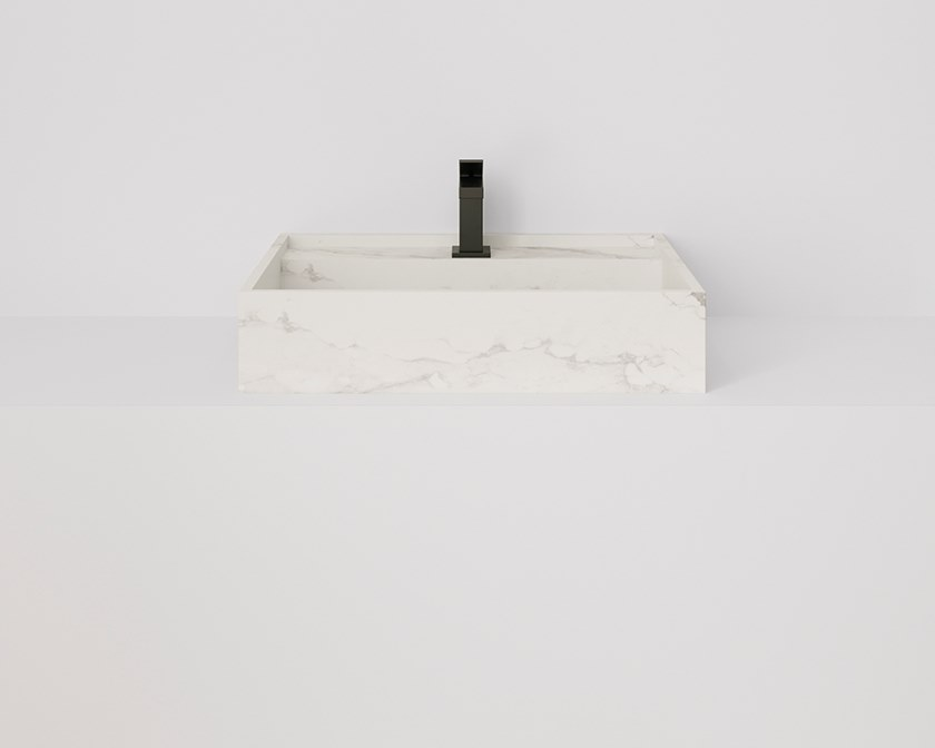 HYDRA Larsen Blanco-Gris Natural / Natural 43x60 cm