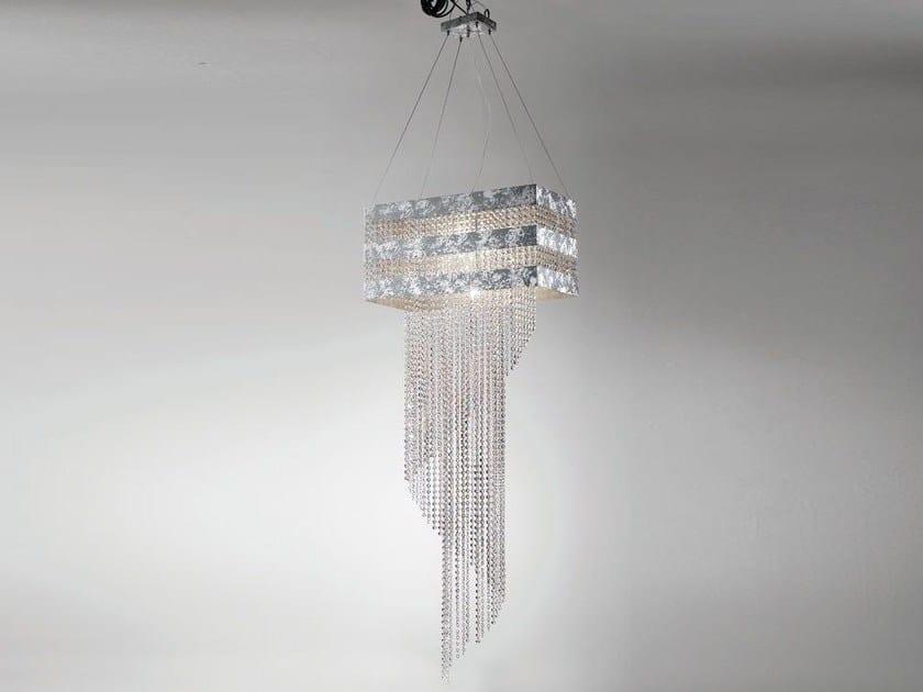 Chandelier with Swarovski® Crystals HYDRA | Chandelier by Euroluce Lampadari