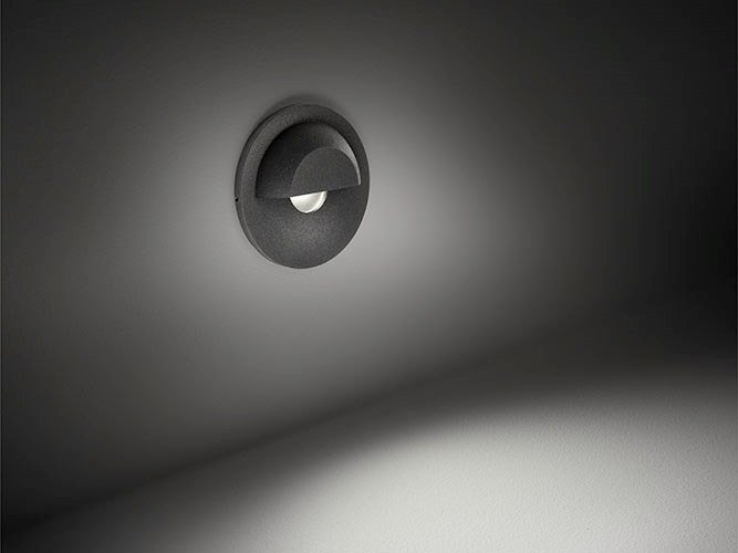 LED wall-mounted aluminium steplight HYDRO by BEL-LIGHTING