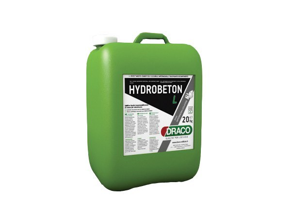Additive for cement and concrete HYDROBETON L by DRACO ITALIANA