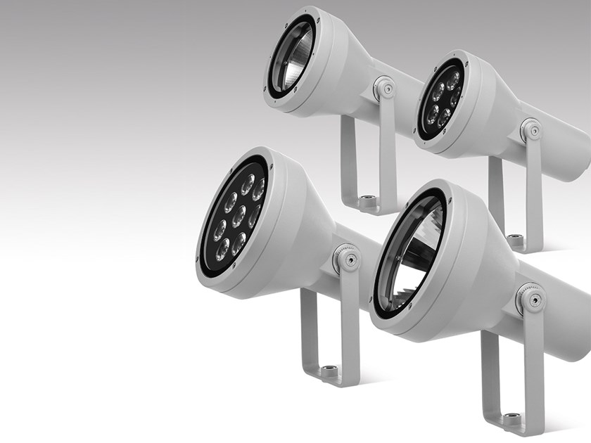 LED adjustable die cast aluminium Outdoor floodlight HYDROFLASH | Outdoor floodlight by PUK