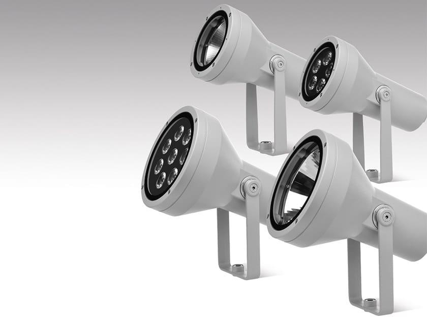 Proiettore per esterno a LED orientabile in alluminio pressofuso HYDROFLASH | Proiettore per esterno by PUK