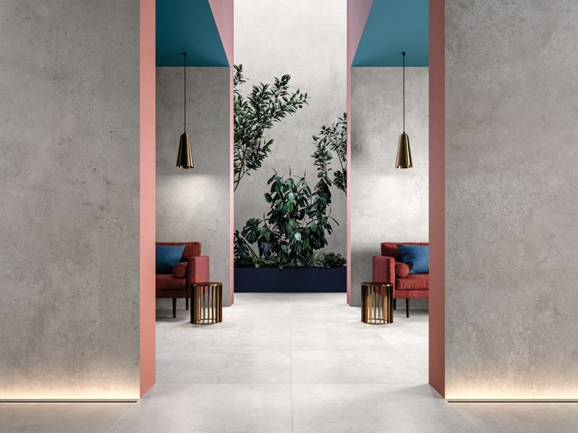 Porcelain stoneware wall/floor tiles HYPER by Flaviker