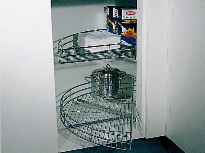 Accessorio interno per la cucina in acciaio Cestello a mezzaluna ...