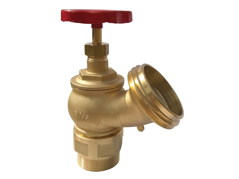Component for fire-fighting systems Hydrant tap with rotating ring by R.M. MANFREDI