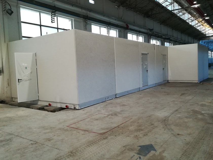 Reinforced concrete Prefabricated toilet I-18(01) | Prefabricated toilet by Emmecinque Monoblocchi