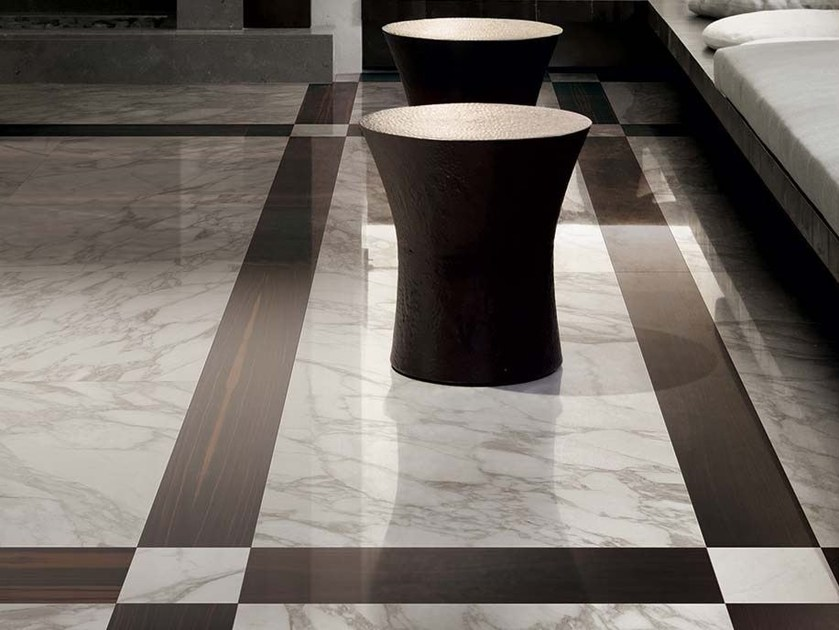Full-body porcelain stoneware wall/floor tiles I BIANCHI DI REX by Rex