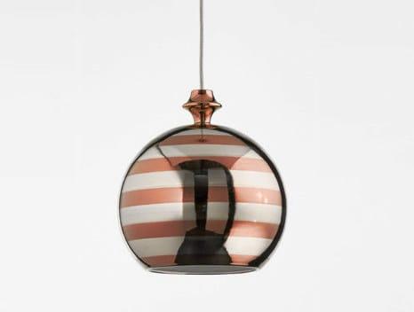 Ceramic pendant lamp I LUSTRI | Ceramic pendant lamp by Aldo Bernardi