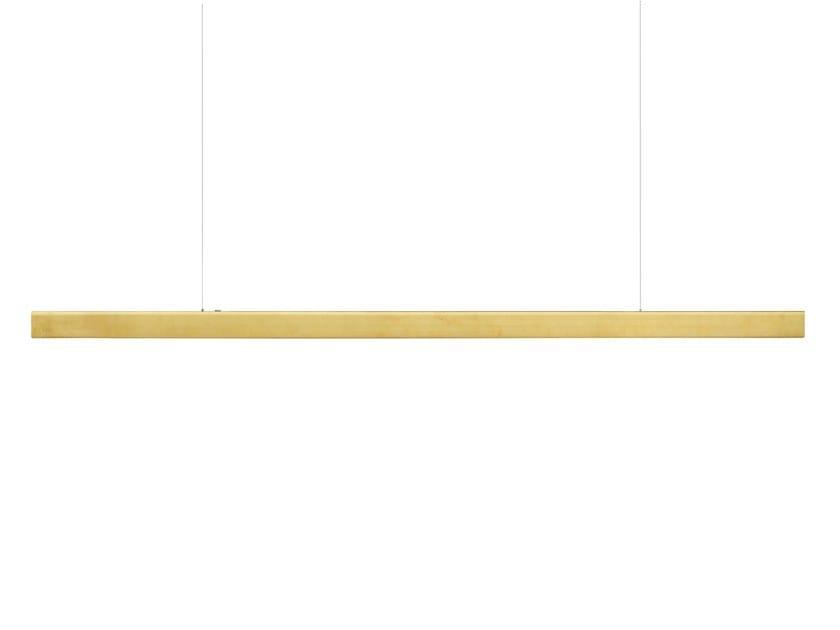 LED metal pendant lamp I MODEL CORDLESS by Anour