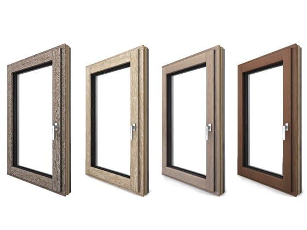Aluminium and wood patio door I-TEC CORE by INTERNORM Italia