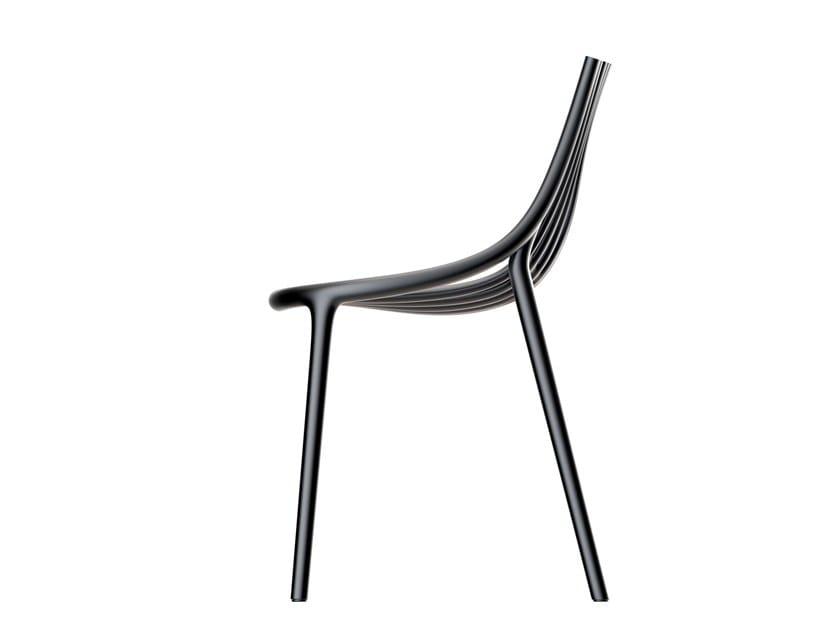 Polyethylene garden chair IBIZA | Chair by VONDOM