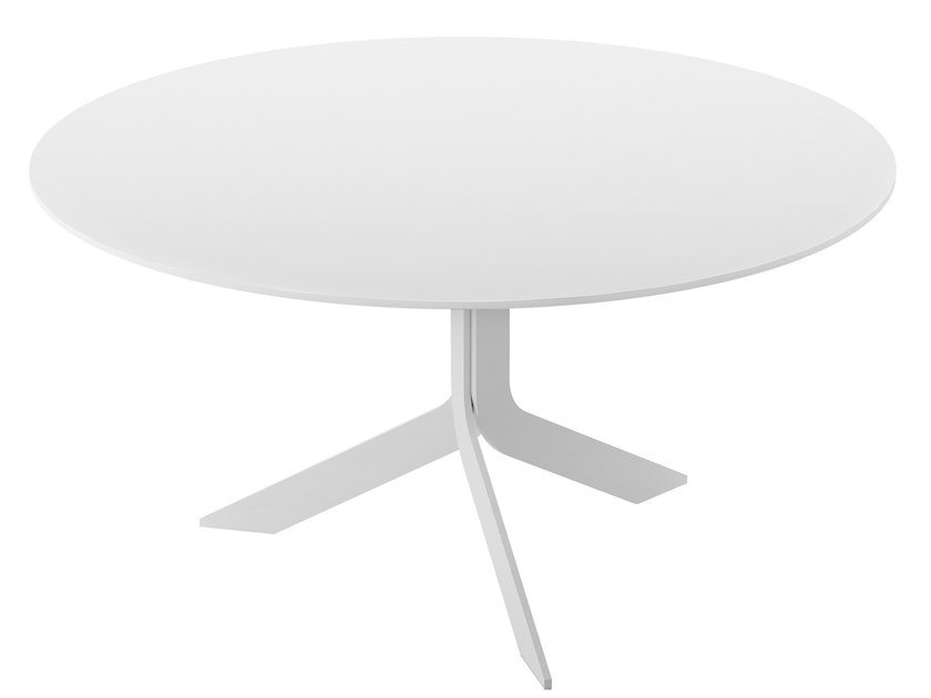 Round MDF table IBLEA | Round table by Desalto