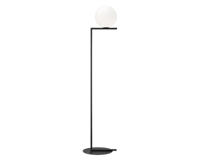 Floor lamp FLOS - IC LIGHTS F1 Black by Archiproducts.com