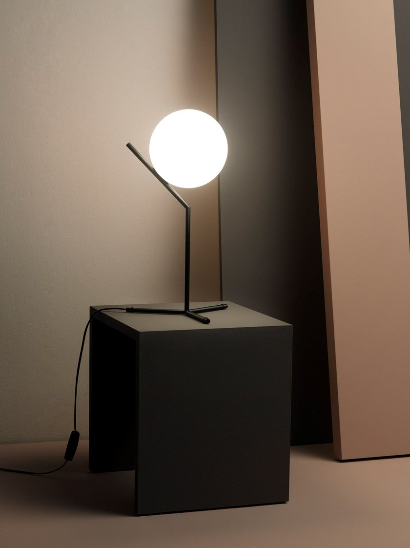 Brass Table Lamp With Dimmer Ic Lights T1 High By Flos Design Michael Anastassiades