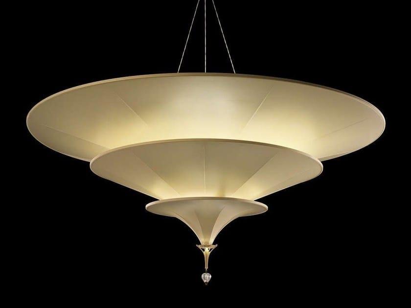 Silk pendant lamp ICARO by Fortuny