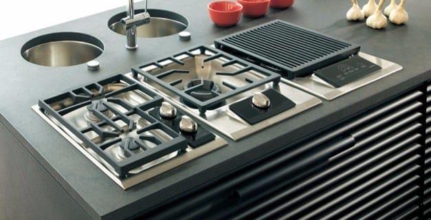 ICBIG15/S DOMINO   Piano cottura con grill