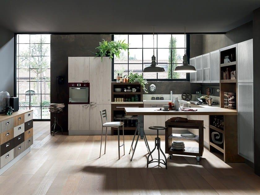 Ice sand cucina con penisola by febal casa design - Febal casa prezzi ...