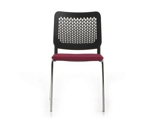 Polypropylene chair / training chair ICE | Reception chair by Diemme