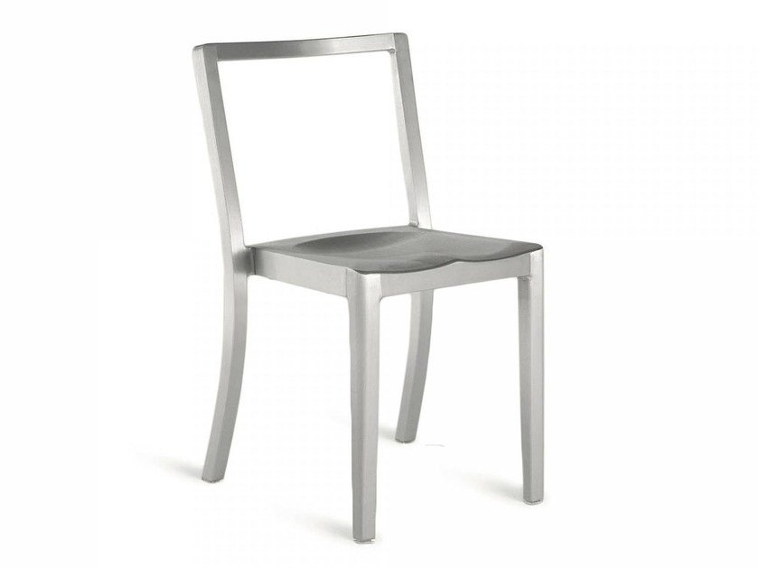 Stackable aluminium chair ICON | Chair by Emeco