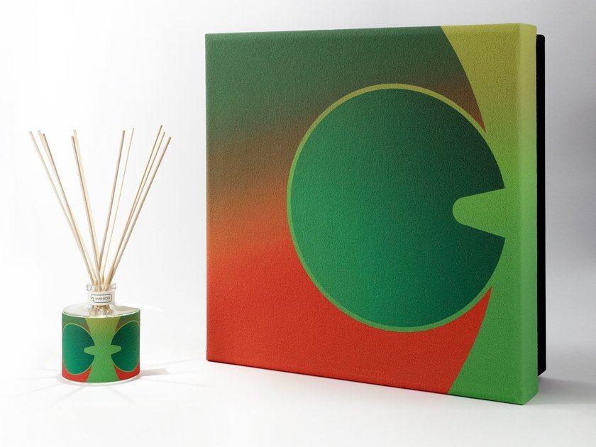 Natural stone Air freshener dispenser ICON DETAILS Premium - Tabacco e Agrumi by IWISHYOU