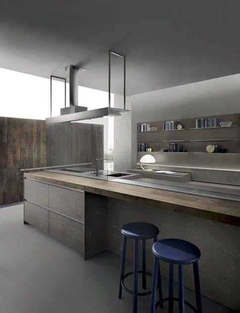 ICON | Cucina in pietra By ERNESTOMEDA design Giuseppe Bavuso