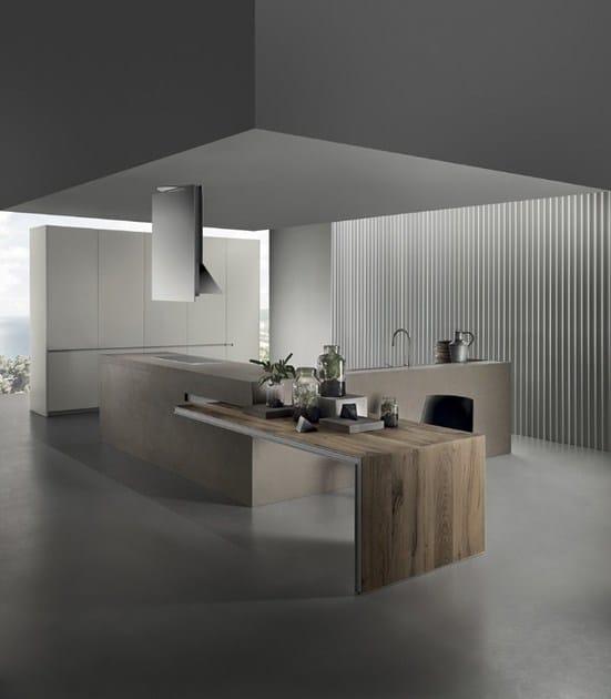 ICON | Cucina in gres porcellanato