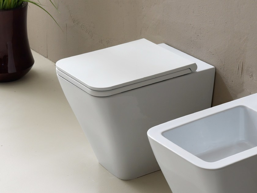 Ceramic toilet ICON SQUARE   Toilet by Alice Ceramica
