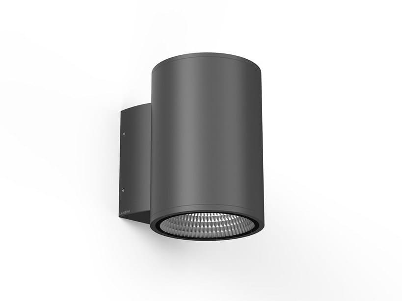 LED aluminium wall light ICON T by LANZINI