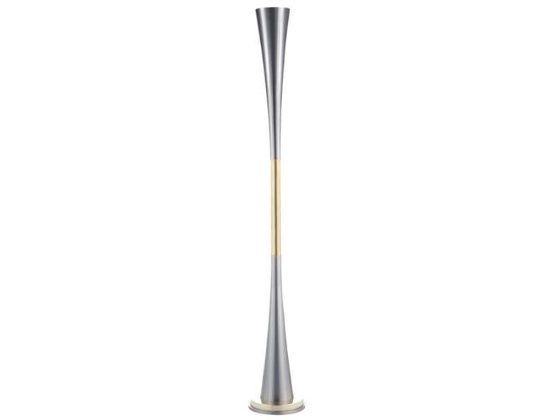 Iron floor lamp ICONIC 02 by Il Bronzetto