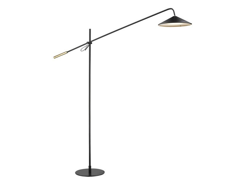 LED aluminium floor lamp ICONIC by Seyvaa