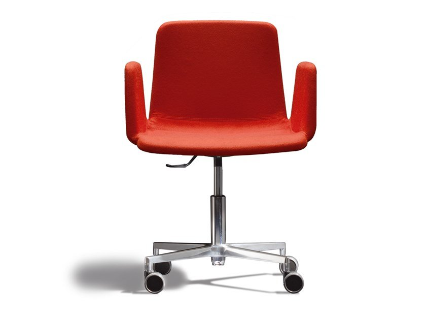 Swivel fabric task chair ICS 506RA4 by Capdell